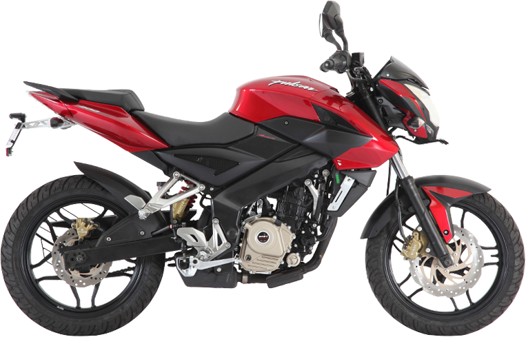 Modified Pulsar 200 NS tries everything it can to look