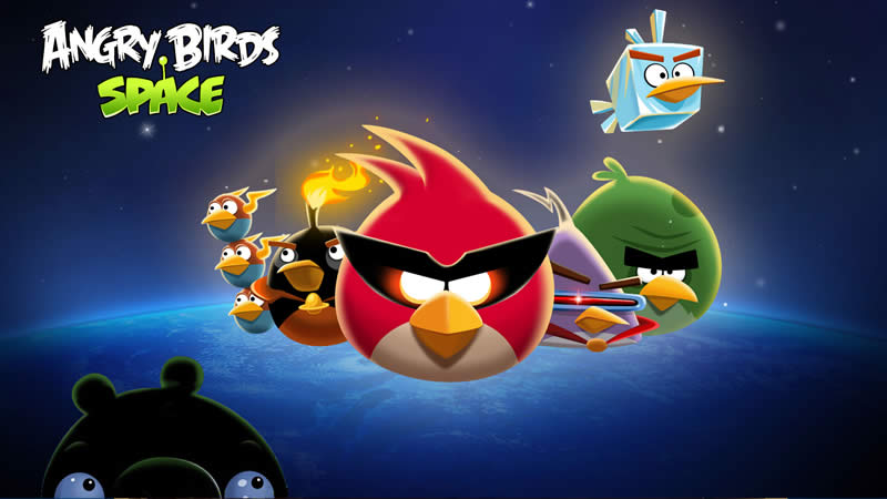 Angry Birds Space Red Planet Update Image