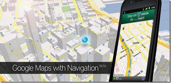 Google Maps Application for Android