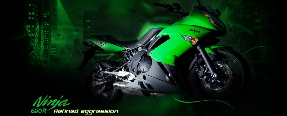 Kawasaki Ninja 650R Reformed Aggression