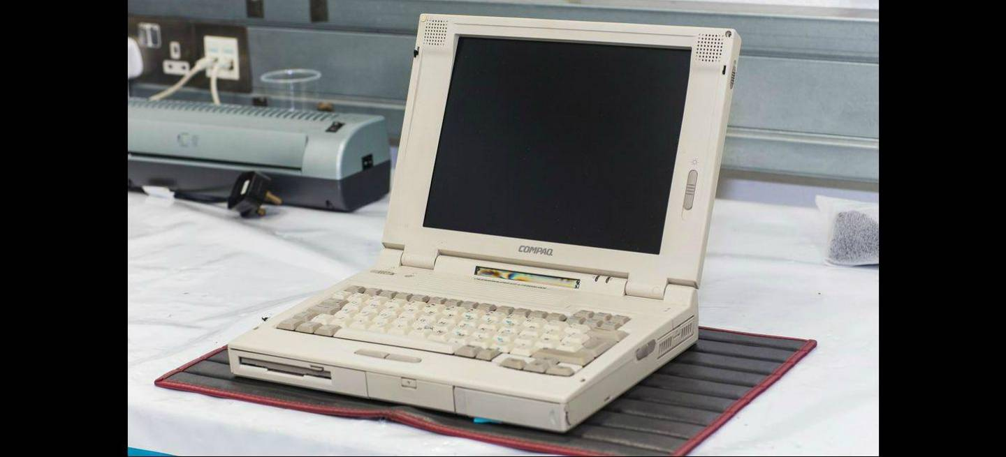 20-year old Compaq 5280 is Mclaren's backbone