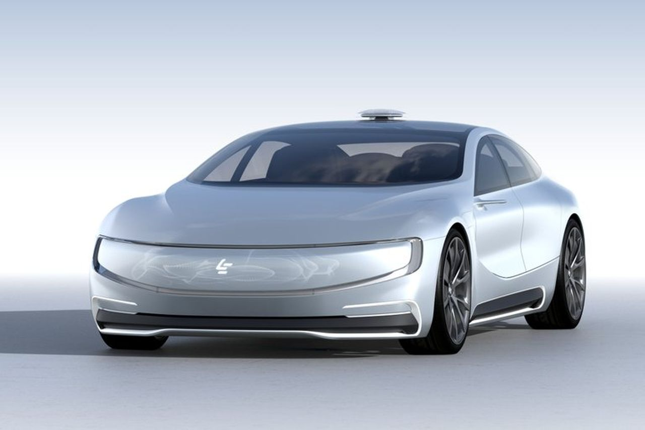 LeSEE - LeEco's electric car