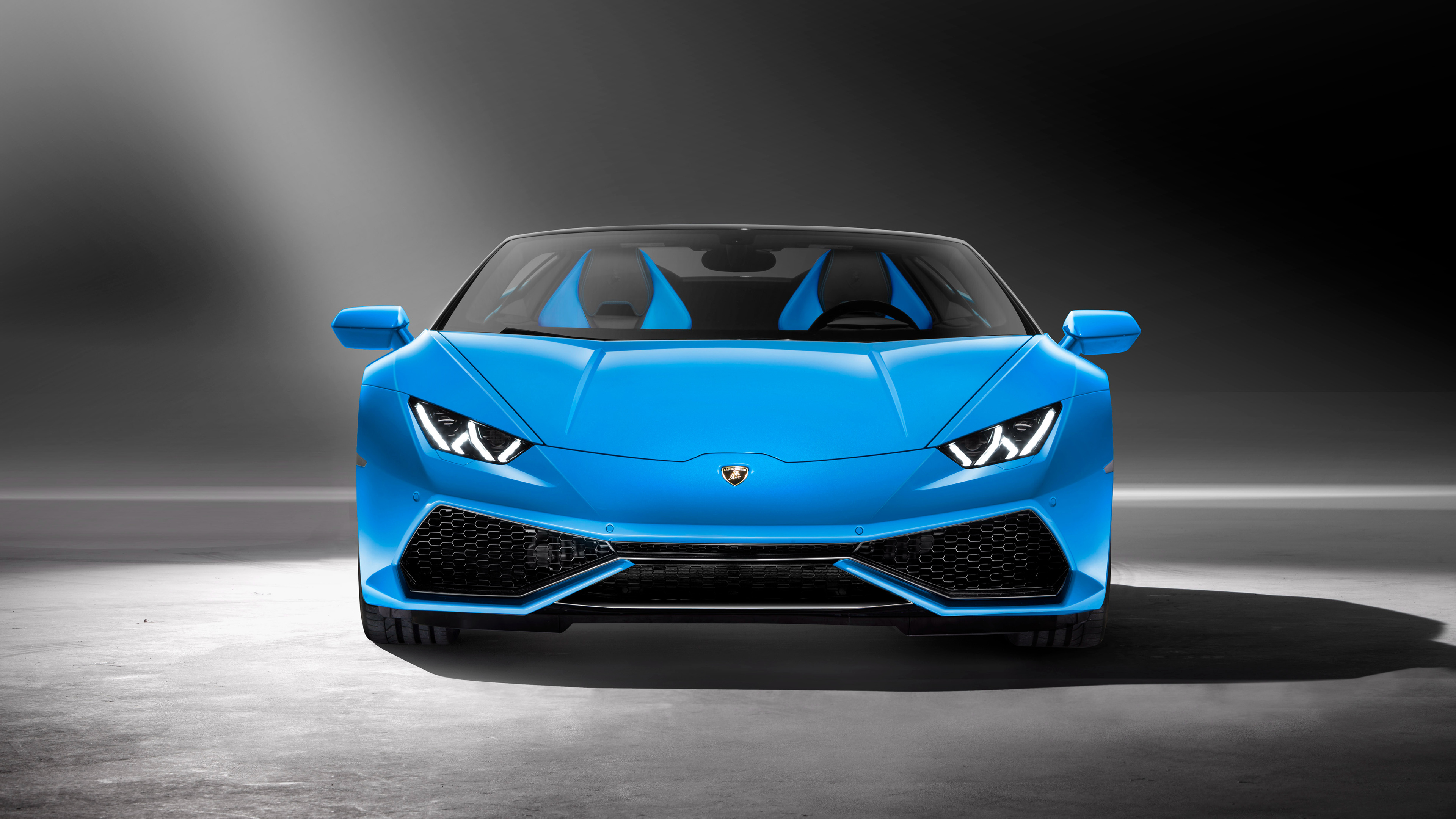 Lamborghini's Huracan Spyder launched in India for Rs 3.89 crores - Front Side