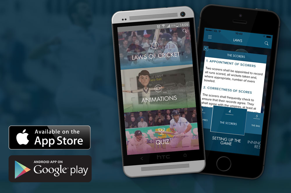 MCC publishes Laws of Cricket app for smartphones - Screenshot