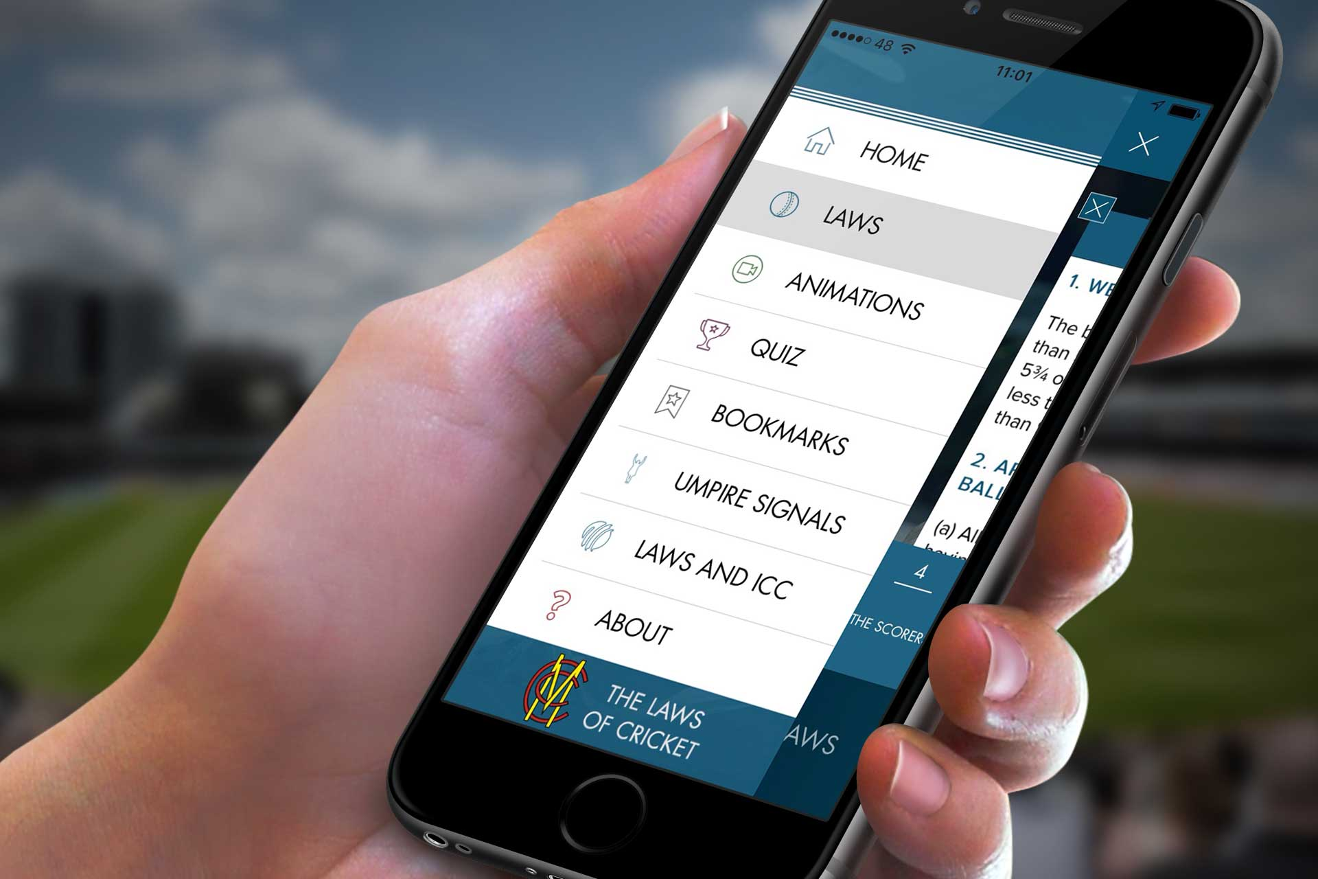 MCC publishes Laws of Cricket app for smartphones [Sports]