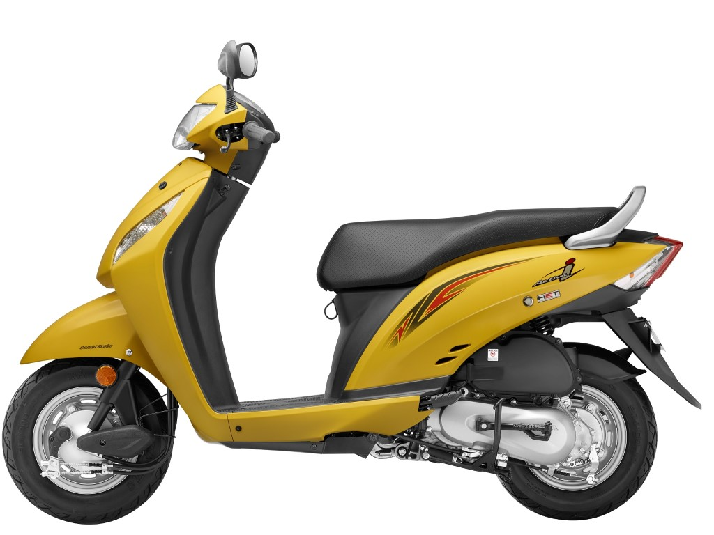 Pearl Trance Yellow new Activa i 2016 model - Featured