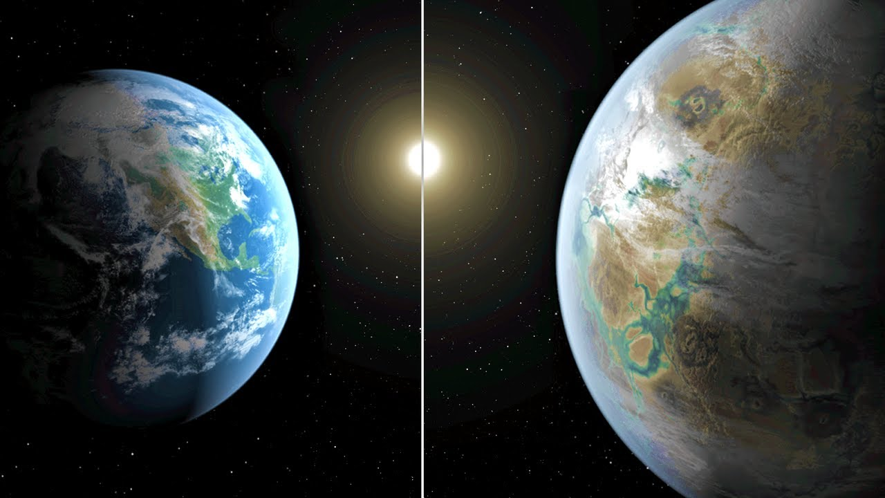 Stunning What if earth is twice its size