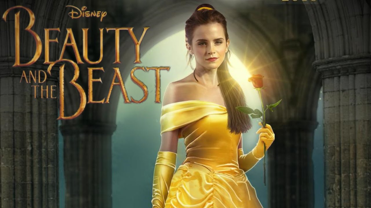 Watch Emma Watson as Belle Teaser Trailer Beauty and the Beast