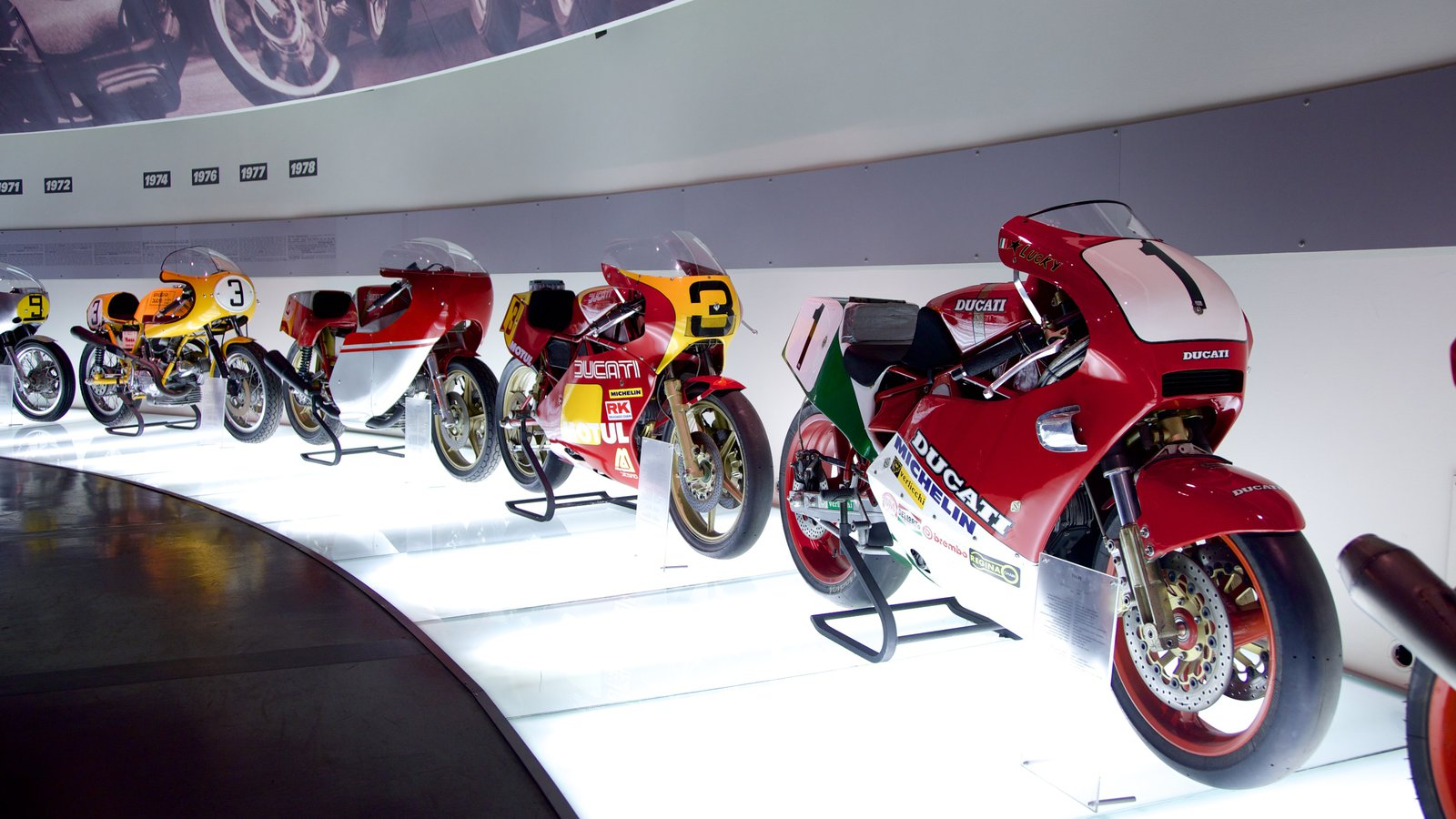 Auto News Renovated Ducati Museum opens ahead of 2016 World Ducati Week WDW Bologna Italy Inset
