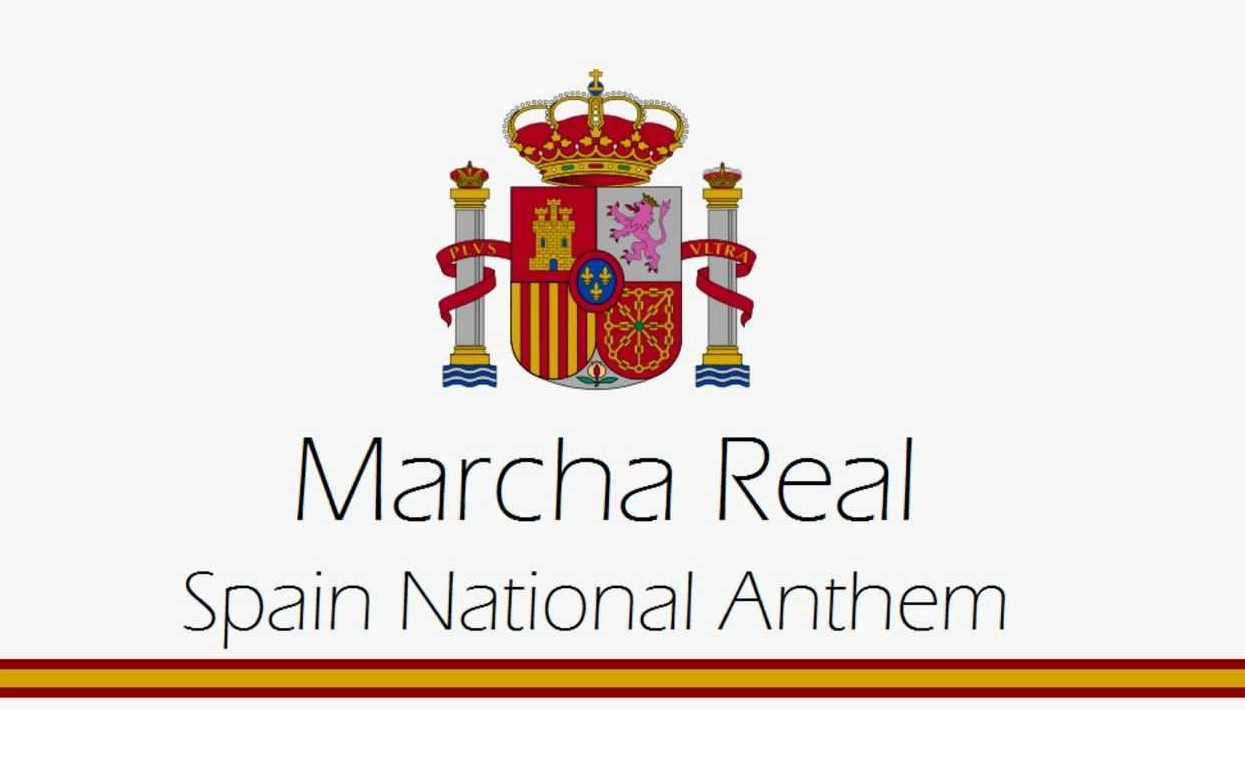 Marcha Real Spain's Official Anthem with no lyrics Perez Casas Francisco Grau