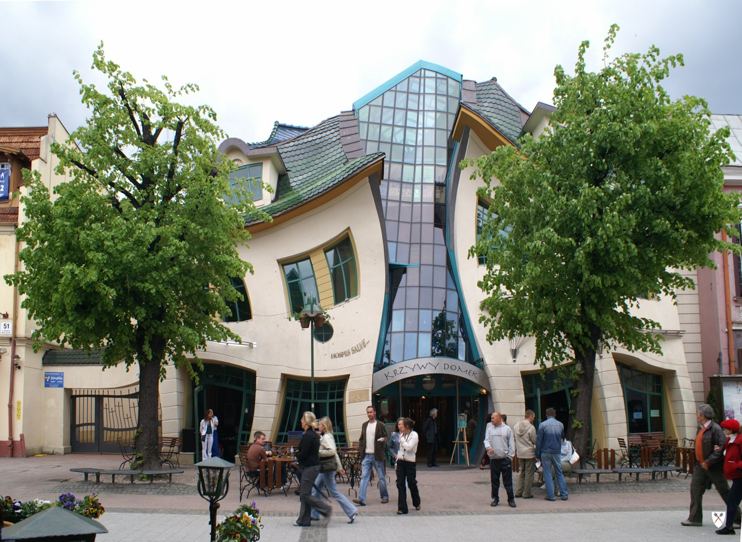 Unusual Tourist Atttractions Krzywy Domek The Crooked House Sopot Poland