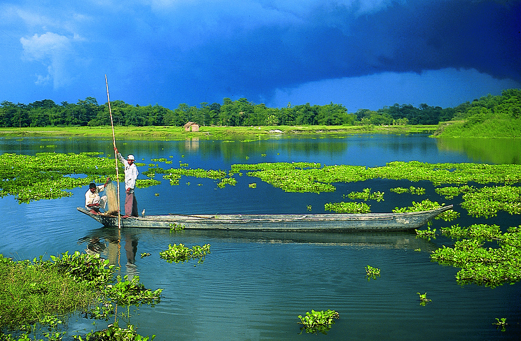 Majuli Island World Largest river Island Assam India