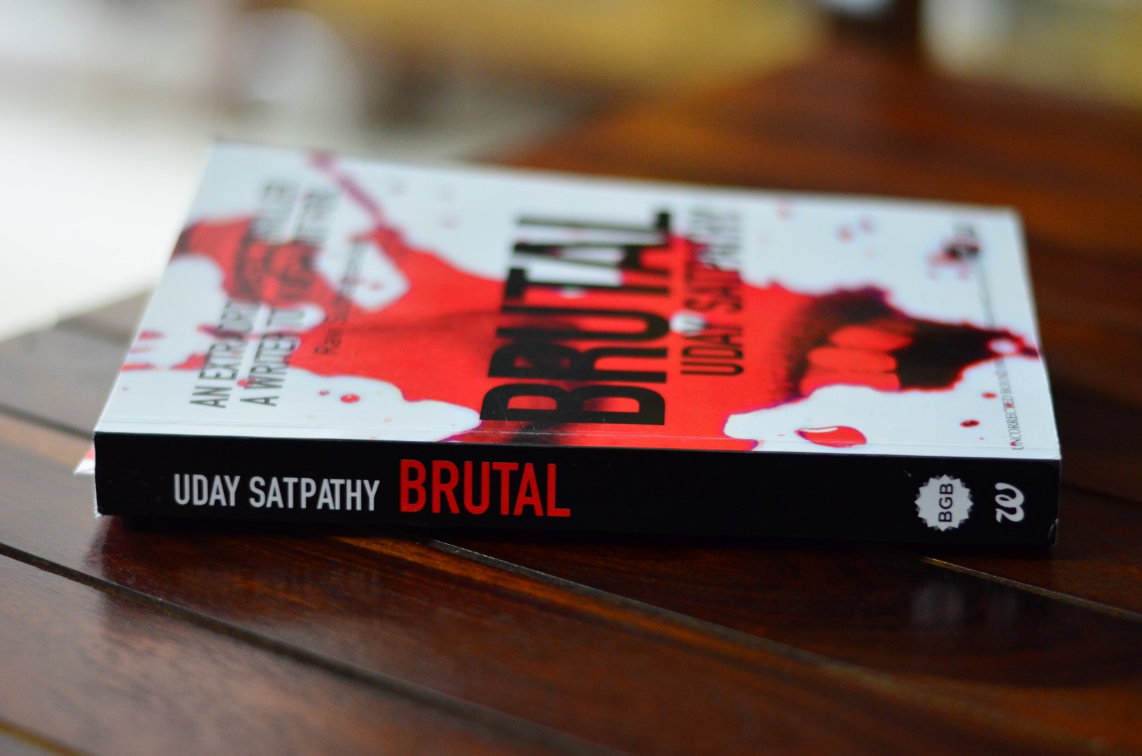 Book Review: Brutal – Absorbing, Captivating and Gripping | Uday Satpathy | Crime Thriller | Indian Fiction