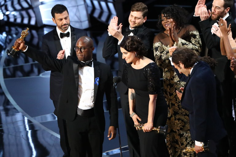 Moonlight wins the best picture Oscar