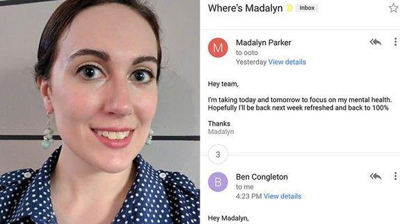 Woman Requests Time off for Mental Health, Boss's Reply Gone Viral