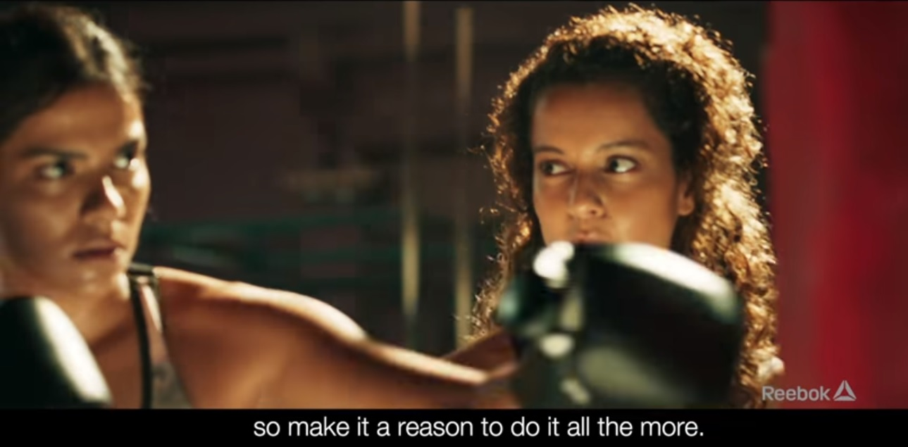 HAVE YOU WATCHED KANGANA'S LATEST AD FOR REEBOK? HERE IS THE LINK