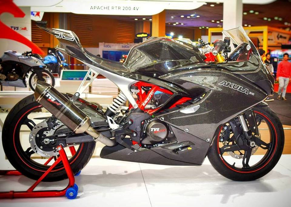 TVS TO LAUNCH THEIR MOST POWERFUL MOTORCYCLE THIS DECEMBER - TVS APACHE RR 310