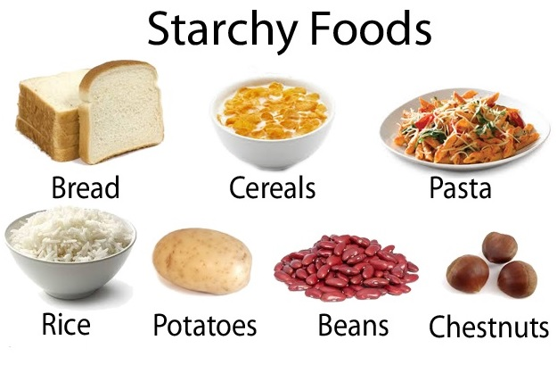 Starchy foods