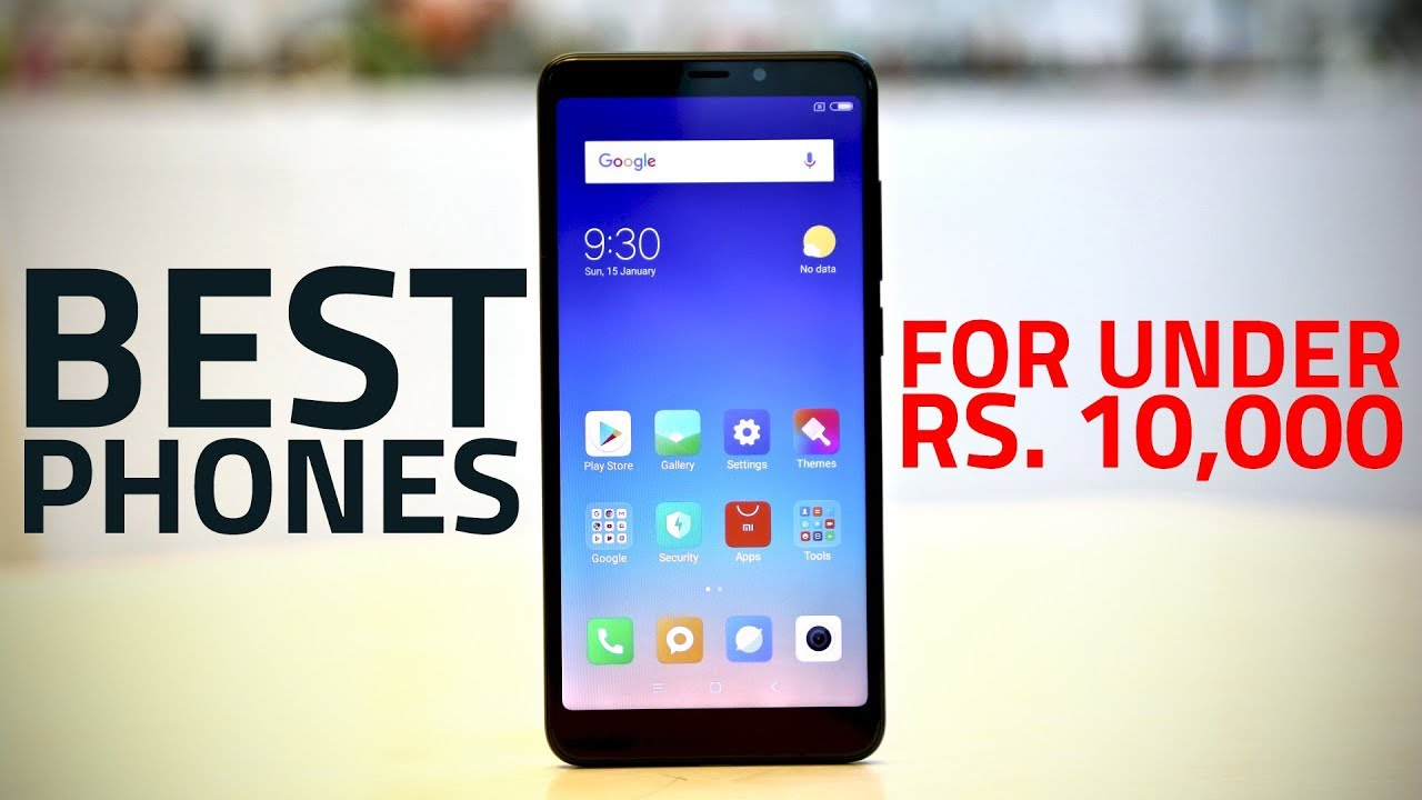 Best Phone under 10,000 in India [December 2018]